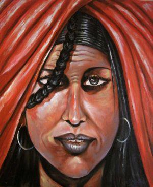 Touareg-woman