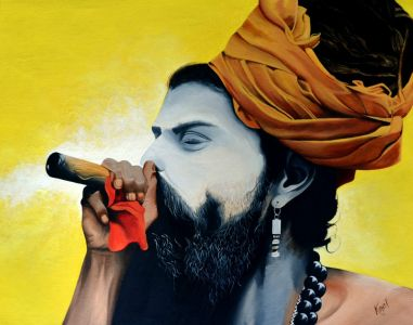THE SADHU AND THE WEED